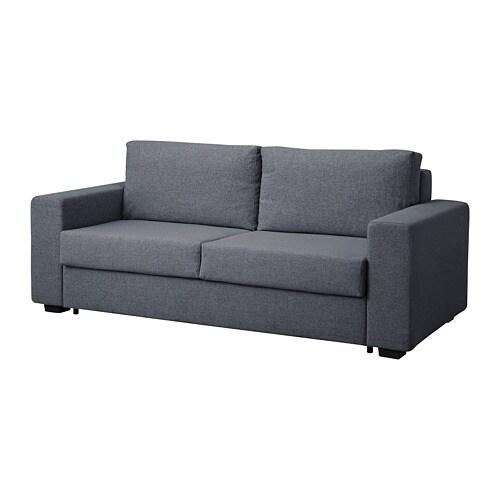 TOLBO Divano letto a 2 posti - Gunnared grigio - IKEA