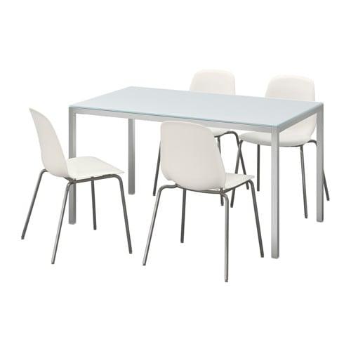 torsby leifarne tavolo e 4 sedie ikea