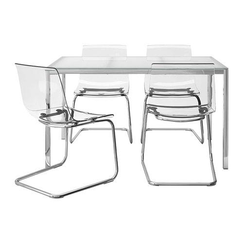 Ikea Tavoli Di Vetro.Torsby Tobias Tavolo E 4 Sedie Ikea