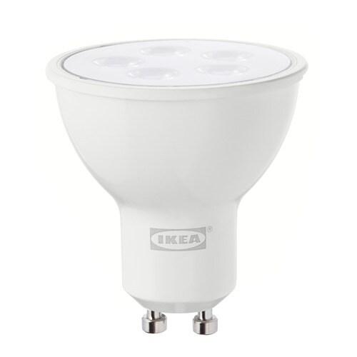 Tr dfri lampadina led gu10 400 lumen ikea - Lampadine a led ikea ...