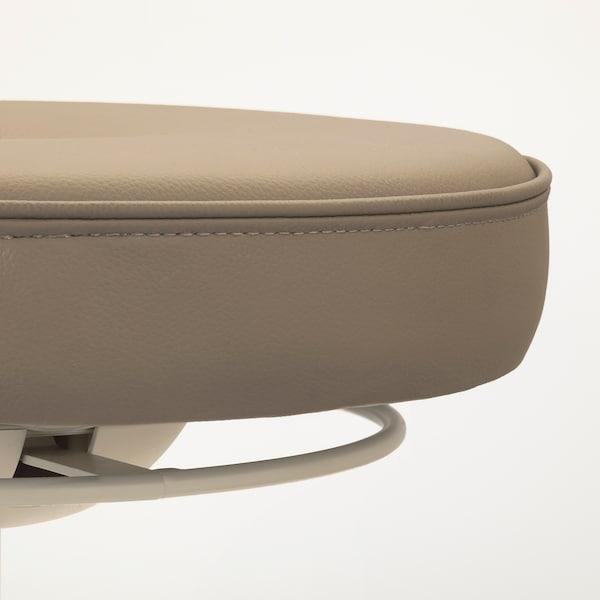 TROLLBERGET Sgabello per seduta attiva, Grann beige