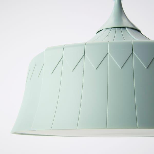 TROLLBO Lampada a sospensione, verde chiaro