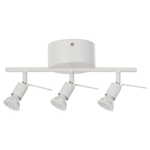 IKEA TROSS Binario da soffitto, 3 faretti