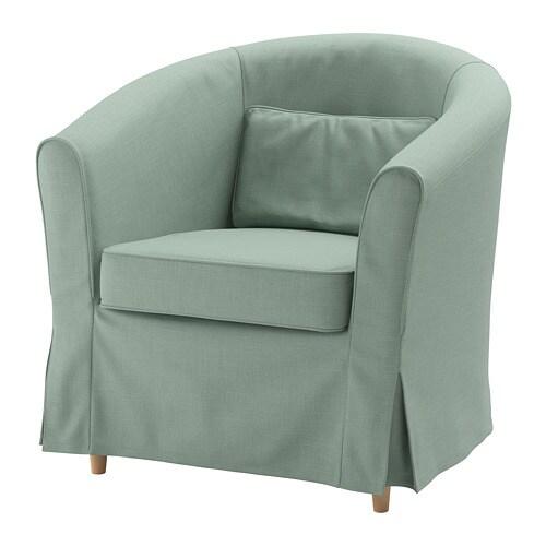 Tullsta Poltrona Nordvalla Verde Chiaro Ikea
