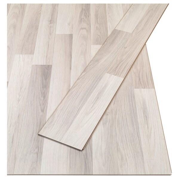 Pavimento in laminato TUNDRA effetto rovere grigio chiaro/bianco on