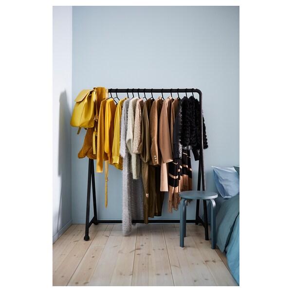 TURBO Stand appendiabiti, interno/esterno, nero, 117x59 cm