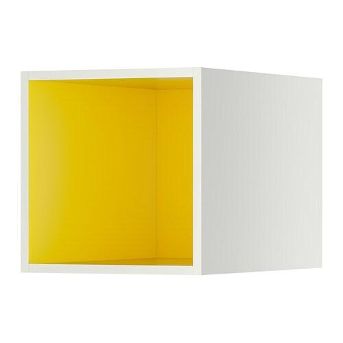 Tutemo mobile a giorno bianco giallo 40x60x40 cm ikea for Ikea cornici a giorno