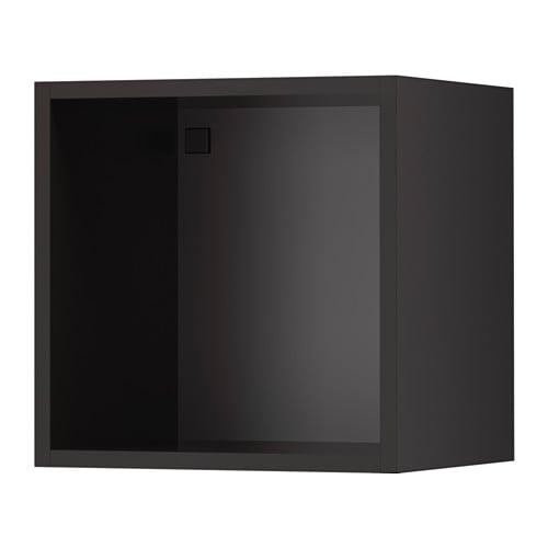 Tutemo mobile a giorno antracite 40x37x40 cm ikea for Ikea cornici a giorno