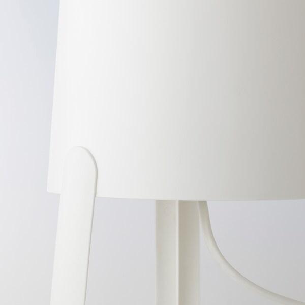 TVÄRS Lampada da tavolo, bianco