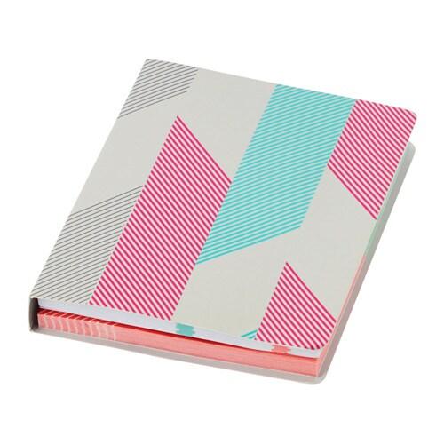 Uppfatta quaderno con foglietti adesivi ikea for Adesivi mobili ikea