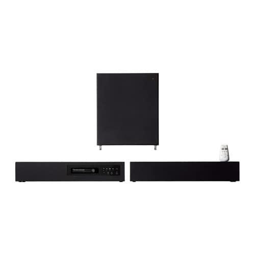 UPPLEVA Sistema audio 2.1, bianco - Sottocosto IKEA Torino