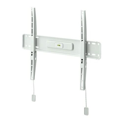Uppleva supporto da parete per tv fisso ikea for Ikea coprifili