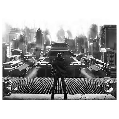 UPPSPEL Poster, cyberspazio, 70x50 cm
