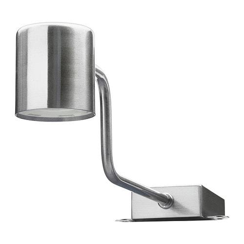 Urshult illuminazione a led per mobile nichelato ikea - Ikea halogeen ...
