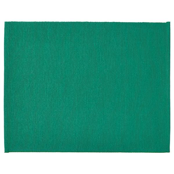 UTBYTT Tovaglietta all'americana, verde scuro, 35x45 cm