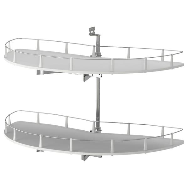 UTRUSTA Accessori estraibili base angolare, 128 cm