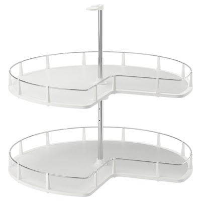 UTRUSTA Accessori girevoli base angolare, 88 cm