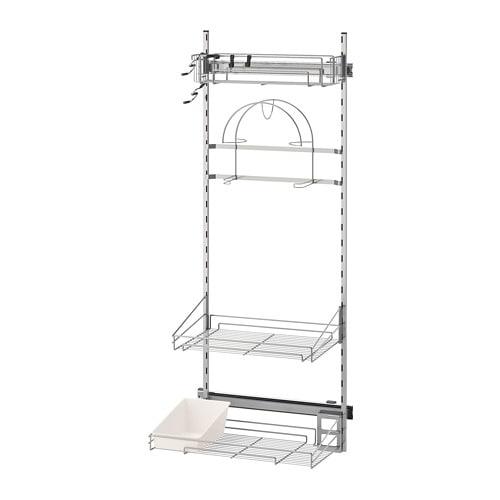 Accessori Interni Per Mobili Da Cucina.Utrusta Accessori Interni Prodotti Pulizie Ikea
