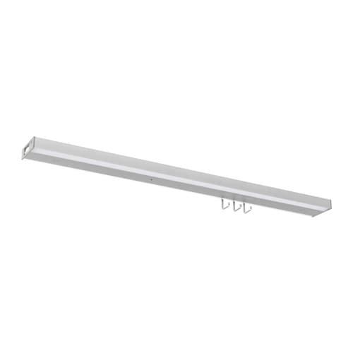 UTRUSTA Illuminazione sottopensile a LED - color alluminio, 80 cm - IKEA