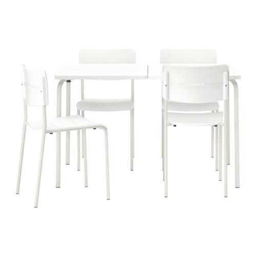 Set Tavolo E Sedie Da Giardino Ikea.Vaddo Tavolo 4 Sedie Da Giardino Ikea