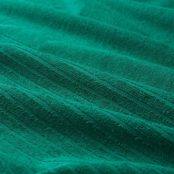 VÅGSJÖN Asciugamano ospite, verde scuro, 30x50 cm