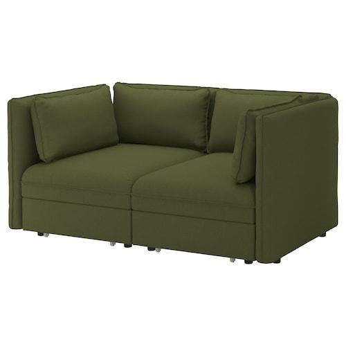 IKEA VALLENTUNA Divano componib 2posti/2div letto