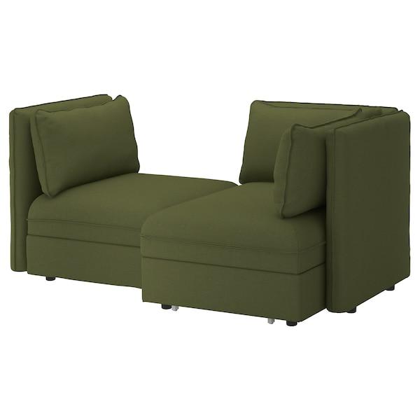 Divano Letto Piccolo Ikea.Vallentuna Divano Componib 2posti Divano Letto E Contenitore