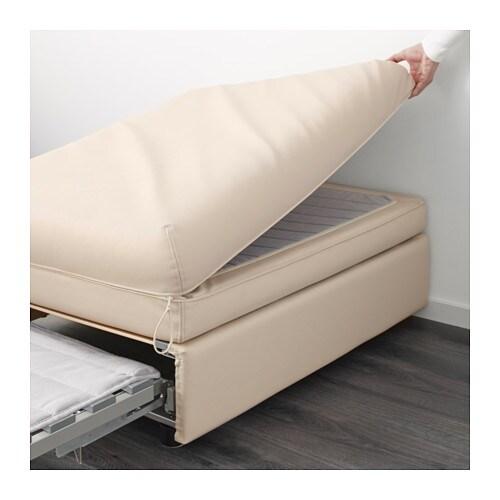 Vallentuna divano angolare a 6 posti con letto murum beige ikea - Ikea divano vallentuna ...