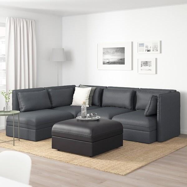 Vallentuna divano angolare 4 posti componibile con for Divano componibile