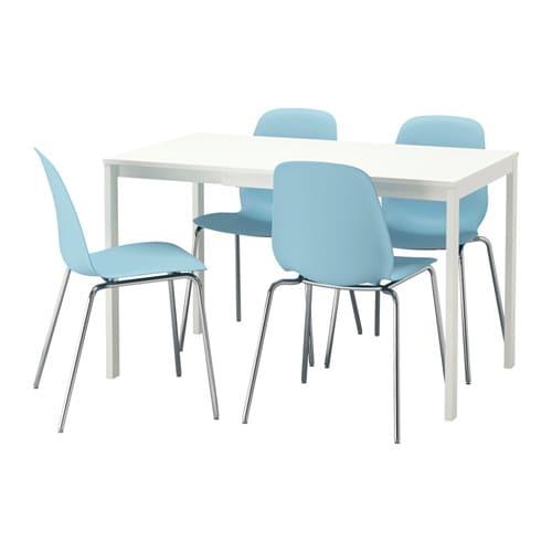 Vangsta leifarne tavolo e 4 sedie ikea for Tavolo sedie ikea