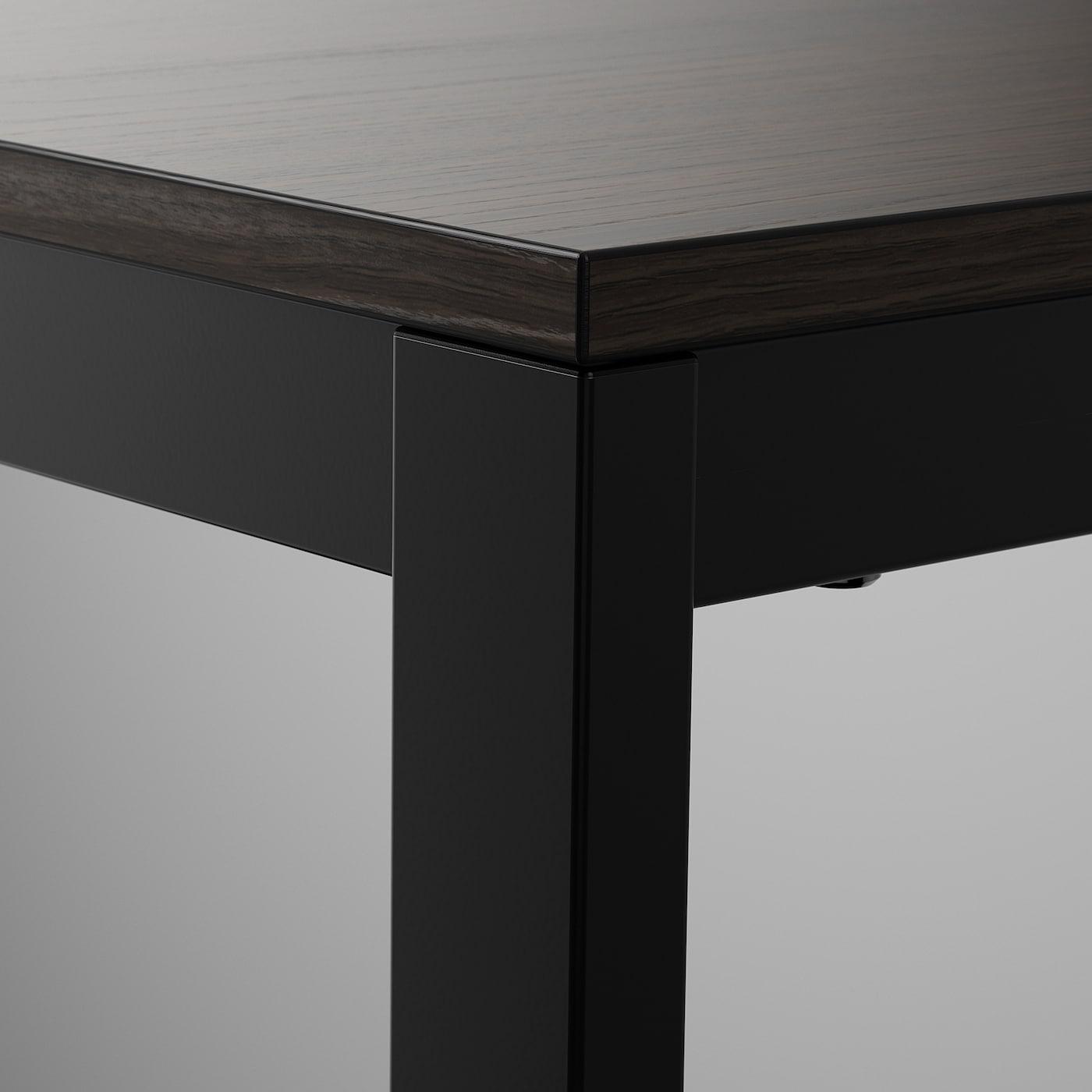 Vangsta Tavolo Allungabile Nero Marrone Scuro Leggi I Dettagli Del Prodotto Clicca Qui Ikea It