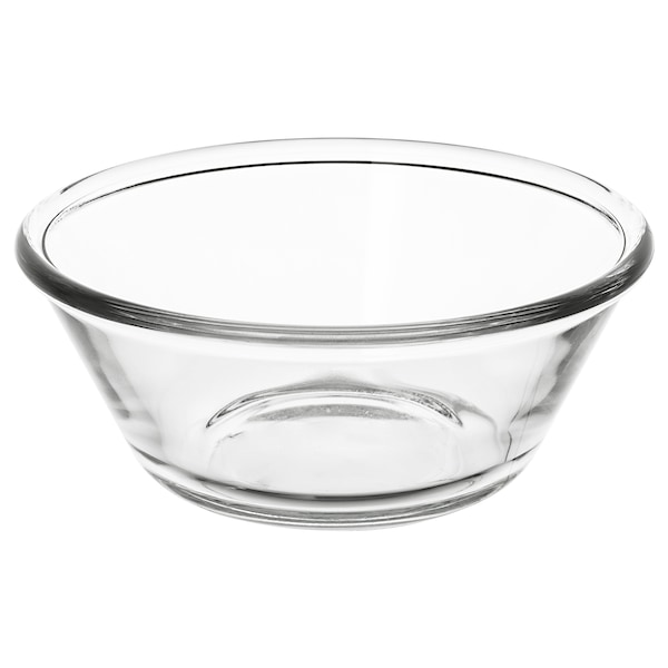 VARDAGEN Ciotola, vetro trasparente, 15 cm