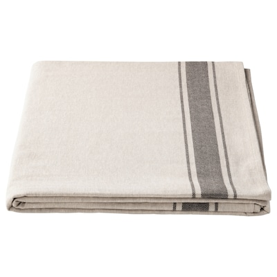 VARDAGEN Tovaglia, beige, 145x320 cm