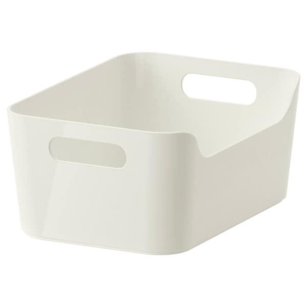 VARIERA Contenitore, bianco, 24x17 cm