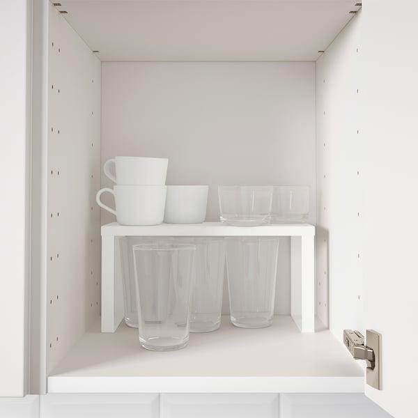 VARIERA Divisorio per ripiano, bianco, 32x13x16 cm