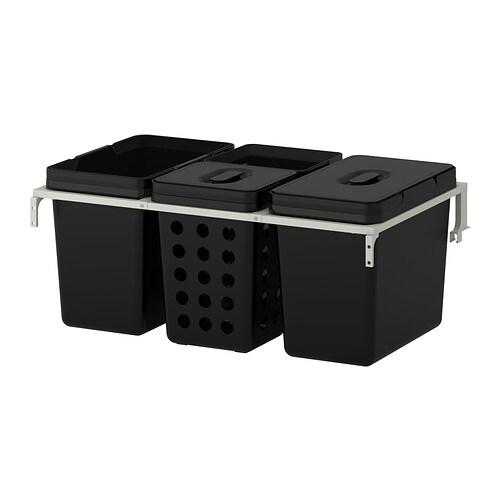 Variera utrusta secchio immondizia per mobile ikea for Contenitori immondizia ikea