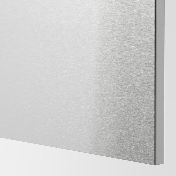 VÅRSTA Rivestimento laterale, inox, 62x80 cm
