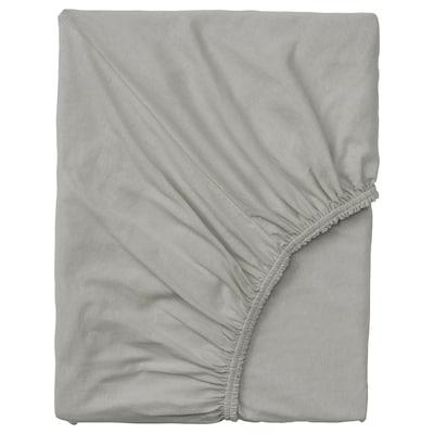 VÅRVIAL Lenzuolo con angoli p letto divano, grigio chiaro, 80x200 cm