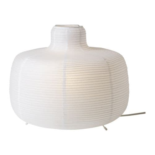 ikea lampadario carta di riso : VaTE Lampada da tavolo IKEA Crea una morbida luce datmosfera.