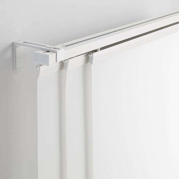 Tende Pannello Ikea Montaggio.Vidga Binario Per Tenda Triplo Bianco Ikea It