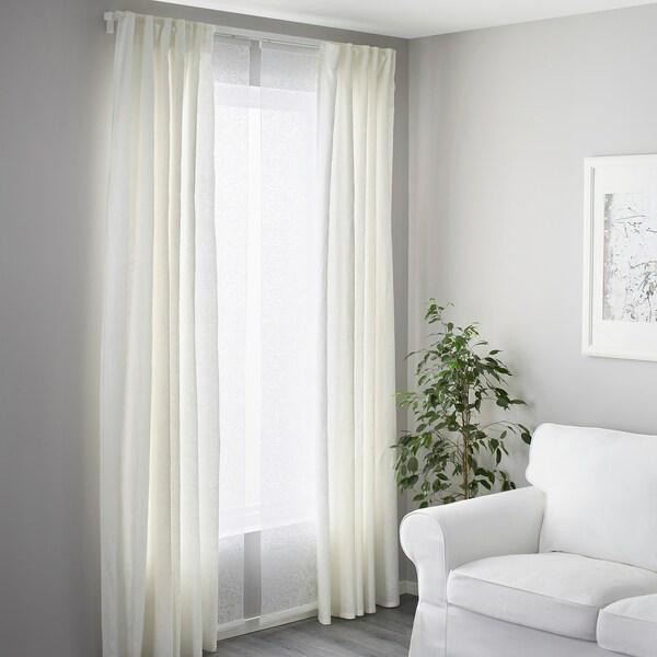 VIDGA binario per tenda triplo bianco 140 cm 10 kg
