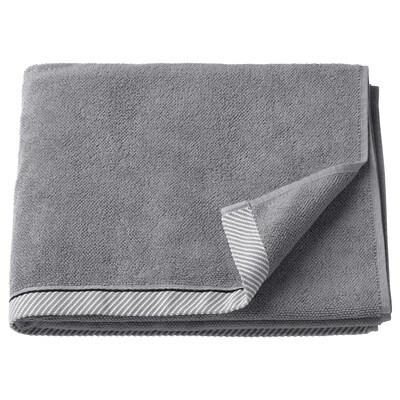VIKFJÄRD Asciugamano, grigio, 70x140 cm