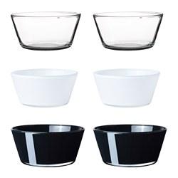 VIKTIGT Ciotola, vetro colori vari  - Sottocosto IKEA Torino