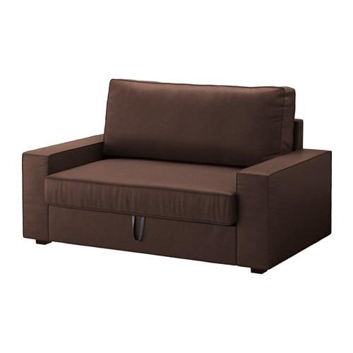 Vilasund divano letto a 2 posti borred marrone scuro ikea - Ikea divano letto 2 posti ...