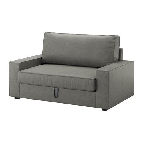 Vilasund divano letto a 2 posti borred grigio verde ikea - Divani letto 2 posti ikea ...