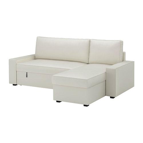Vilasund mattarp divano letto con chaise longue - Divano letto ikea ...