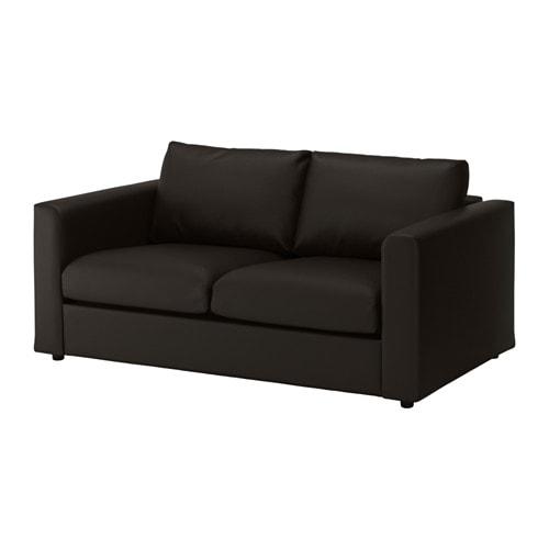vimle divano a 2 posti farsta nero ikea