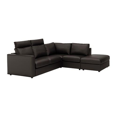 VIMLE Divano angolare a 4 posti - IKEA