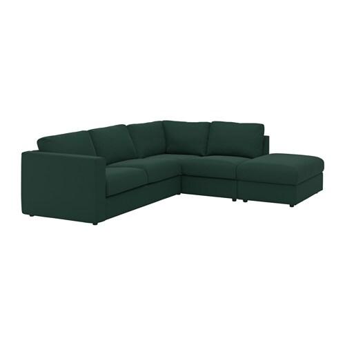 Vimle divano angolare a 4 posti con terminale aperto - Ikea divano angolare ...