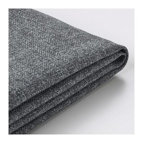 Vimle fodera per divano a 3 posti con chaise longue gunnared grigio fumo ikea - Fodera divano con chaise longue ...